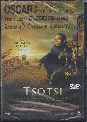 tsotsi dvd importado europa audio y subtítulos en español