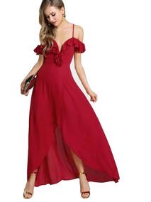1dbaad6b50cf Vestidos Rojos De Fiesta Baratos Largos Mujer Guanajuato - Vestidos ...
