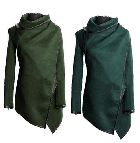tsuki moda japonesa: abrigo saco poncho chamarra moderno