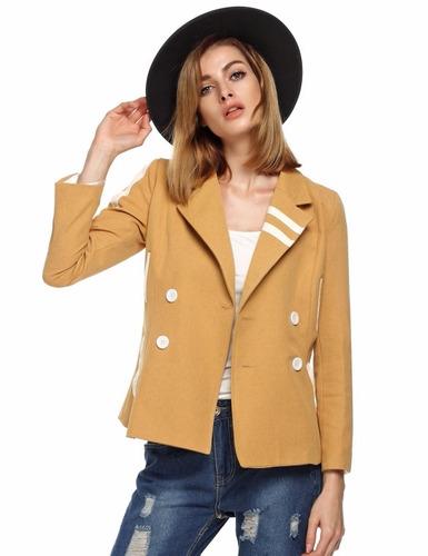 tsuki moda japonesa: blazer saco dama casual formal slim