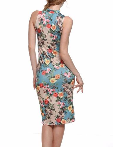 tsuki moda japonesa: vestido fiesta flores floreado sexy