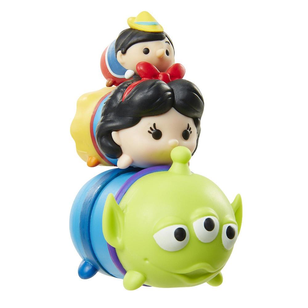 Tsum Tsum 3 Figuras Alien Branca De Neve E Pinoquio Ser R