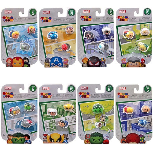tsum tsum marvel disney 3 pack vinyl