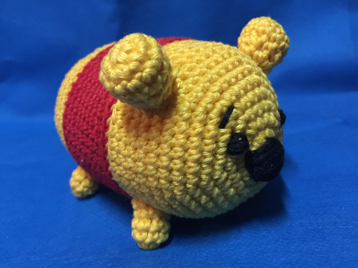 Ravelry: Pooh Tsum Tsum pattern by Ervinna Lee | 900x1200