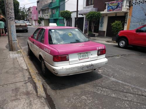 tsuru taxi 2008 c/placas v/c por pick up