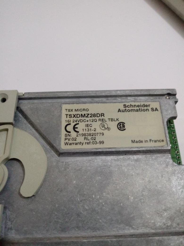 Schneider Automation TSX Micro TSXDMZ28DR Modulo