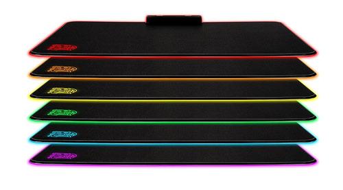 tt esports draconem rgb illuminated hard gaming mouse pad