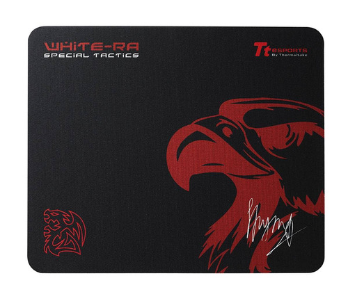 tt esports white ra special tactics gaming mouse pad