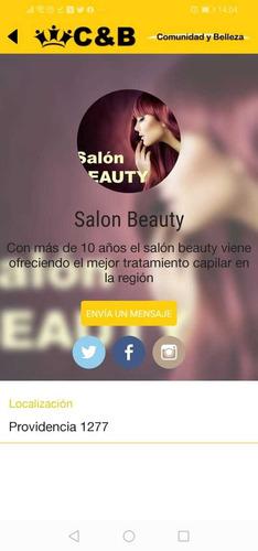 tu local de belleza en la app