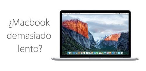 tu macbook esta lento? te ayudamos