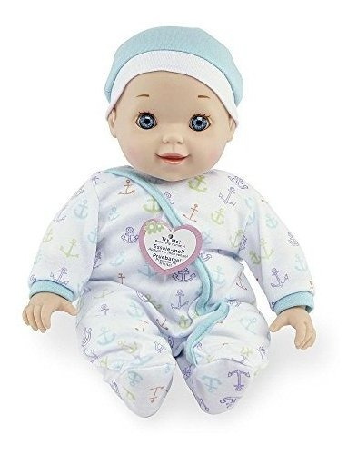 tu  me chatter y coo baby doll azul