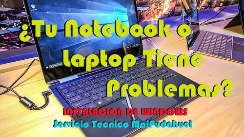 ¿tu notebook tiene problemas? nosotros lo solucionamos