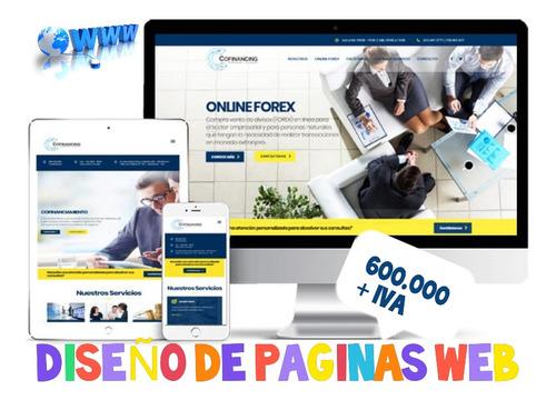 tu pagina web ahora puede ser tu mejor vendedor.