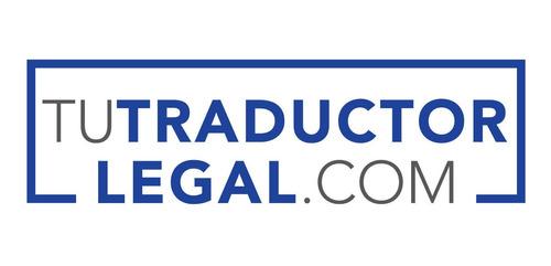 tu traductor legal - traductor certificado / intérprete