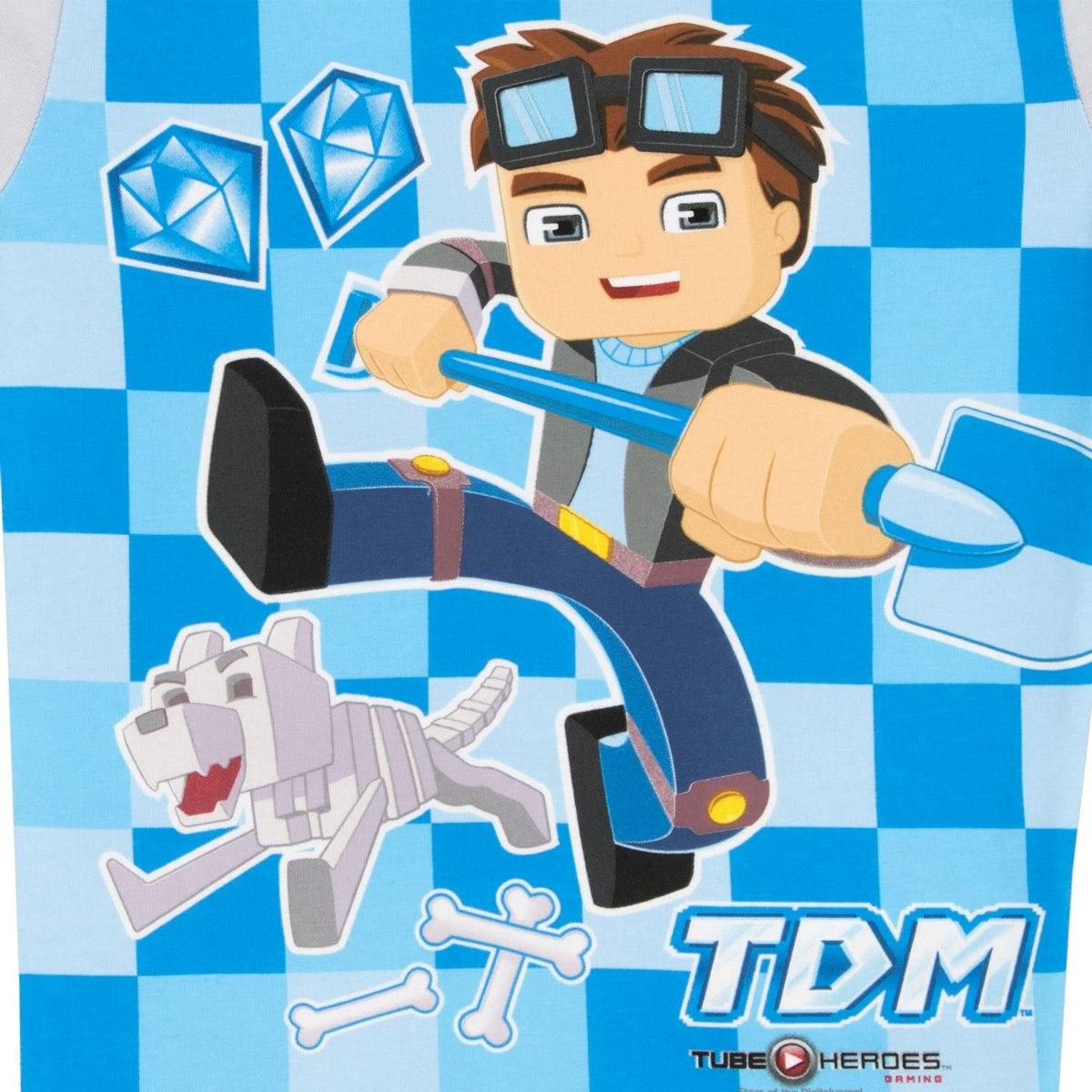 cc133580b1 Tube Heroes Boys Dan Tdm Pijamas 10... -   44.599 en Mercado Libre