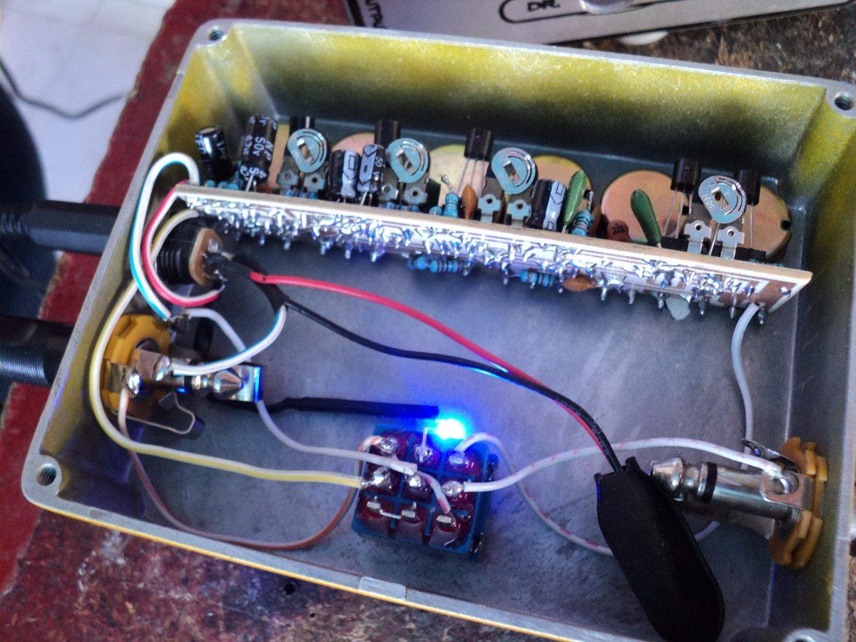 Tube Screamer Kit Electronico Armalo Tu Mismo