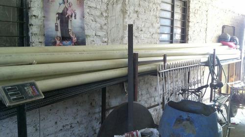 tubería biaxial para riego de 3  totalmente nuevos de 6 mts