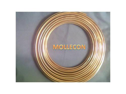 tubería cobre 1/4 flexible para aire acondicionado 15,24 mts