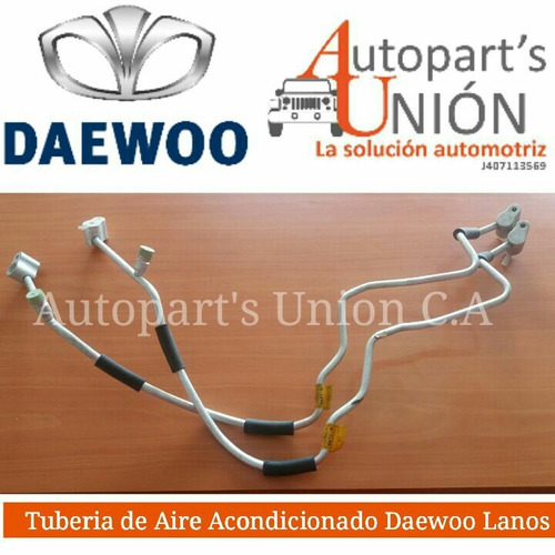 tubería  de aire  acondicionado  daewoo lanos
