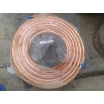 tuberia de cobre 3/4 15.mts  8500 el metro
