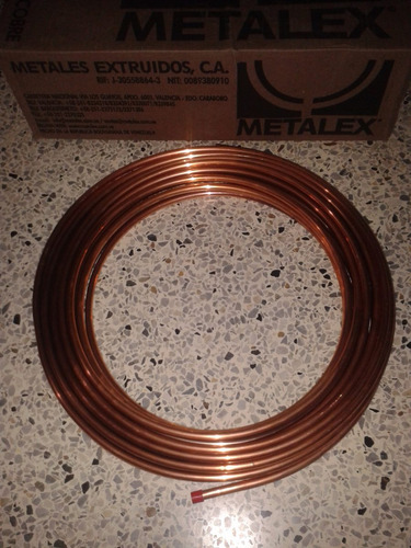 Tuberia de cobre flexible 3 16 precio x metro bs 8 - Tuberia de cobre precios ...