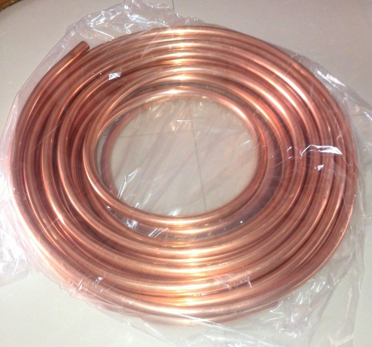Tuberia flexible de cobre 1 4 de mts bs - Tuberia cobre precio ...