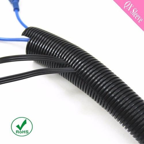 tuberia flexible plastica corrugada 1 pulg (25mts) negra