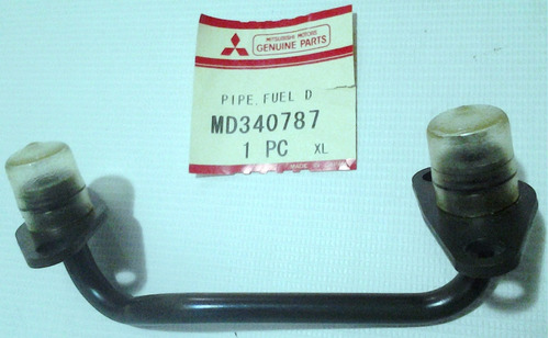 tubería llenado riel inyectores mitsubishi  montero limited