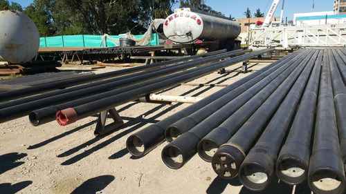 tubería petrolera usada