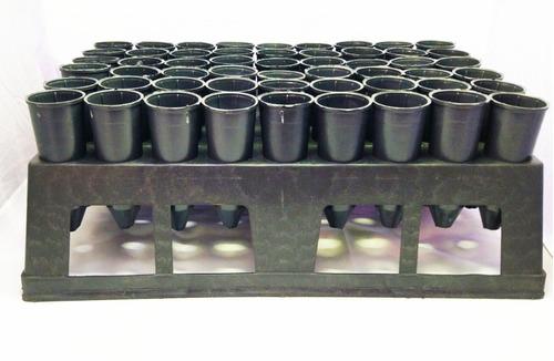 tubetes 290ml - 108 unid  + 2 bandeja - plantas