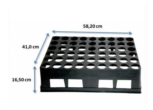 tubetes 290ml - 54 unid  + 1 bandeja - plantas