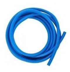 tubing-tubo elástico color azul, cando-yoga-rehabilitación