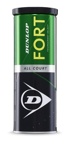 tubo 3 pelotas dunlop fort tenis - estacion deportes olivos