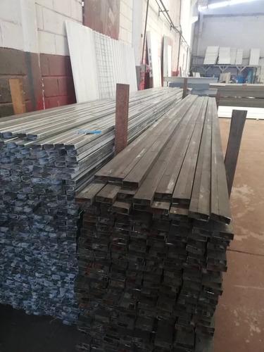 tubo 3x1 2x1 1.4 mm 6 metros ideales acerolit galvanizados