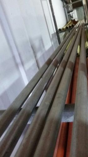 tubo agua garvanisado con anillo 6 metros