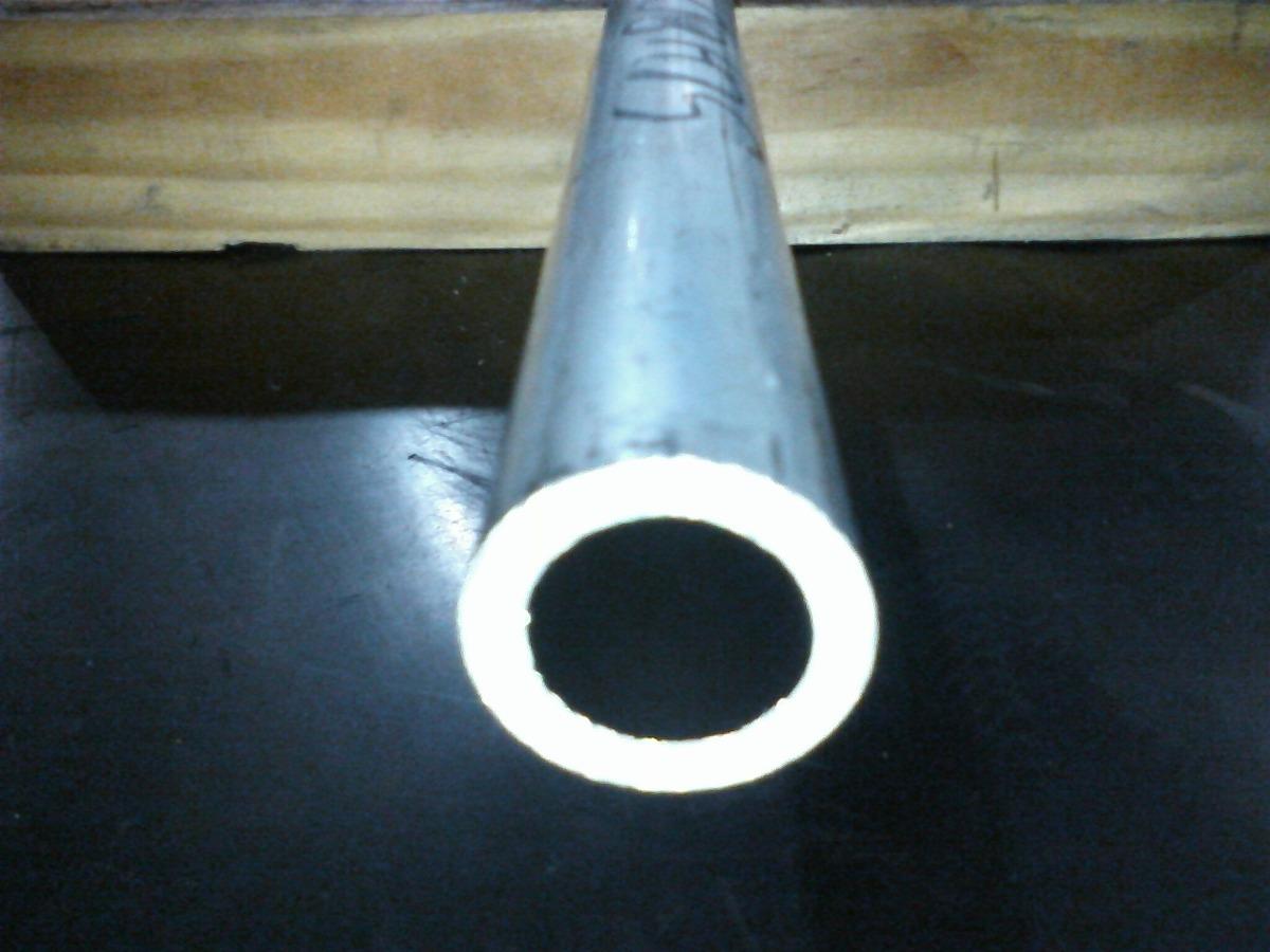 Tubo aluminio liga 6101 t6 redondo schedule 80 de 3 4 x 1 - Tubo de aluminio redondo ...