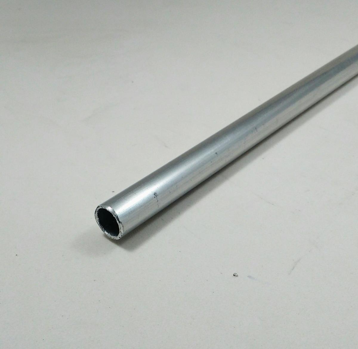 Tubo aluminio redondo 1 2 x 1 16 1 27cm x 1 58mm c 99cm - Tubo de aluminio ...