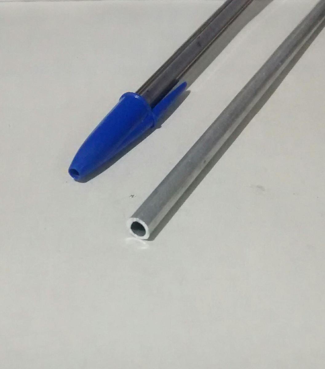 Tubo aluminio redondo 1 4 6 35mm x 1 00mm c 99cm r 9 - Tubo de aluminio redondo ...