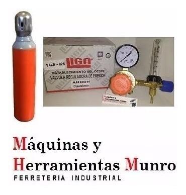 tubo atal de 1 metro cubico + regulador con caudalimetro marca liga