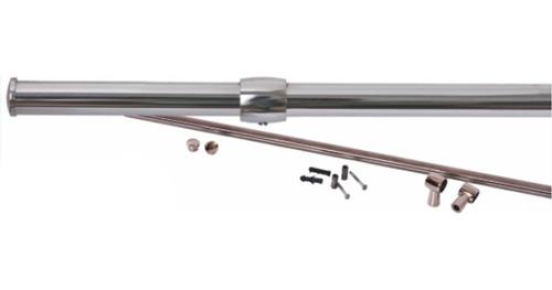 tubo barra cozinha para aramados 5/8 x 45cm inox jomer 3038