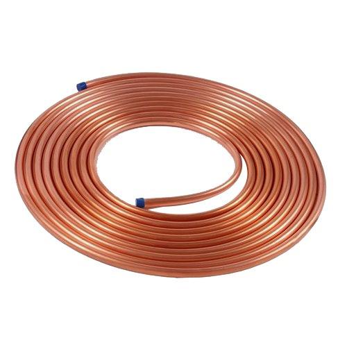 Tubo cobre 1 4 10 mts para g s de cozinha e ar - Tubo de cobre para gas ...
