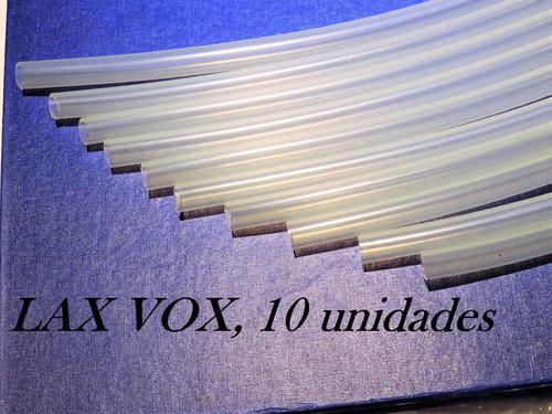 tubo compatível com lax vox- 10 unidades