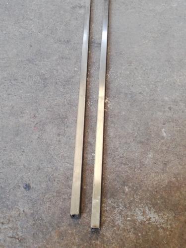 tubo cuadrado de acero inoxidable 1/2 pulgada