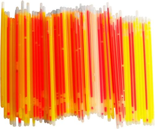 tubo de 100 varitas d/neon ideales para iluminar tus eventos