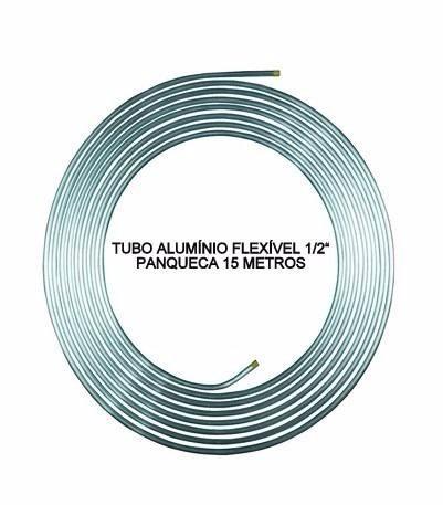 Tubo de alum nio 1 2 panqueca com 15 metros chiller - Tubo de aluminio ...