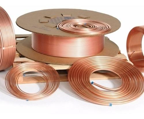tubo de cobre 3/8 com 15 metros para ar condicionado split