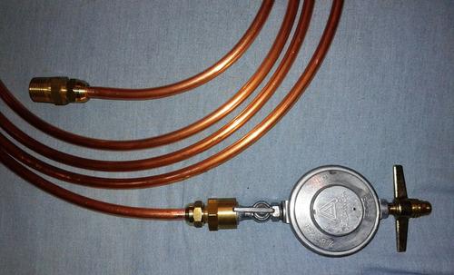 Tubo de cobre 3 8 39 flex gas 4mts registro adaptadores - Tubo de cobre para gas ...