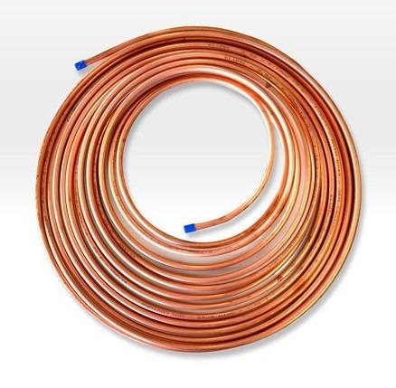 Tubo de cobre 3 8 39 flexivel para gas e refrigera o 4mts - Tubo de cobre para gas ...