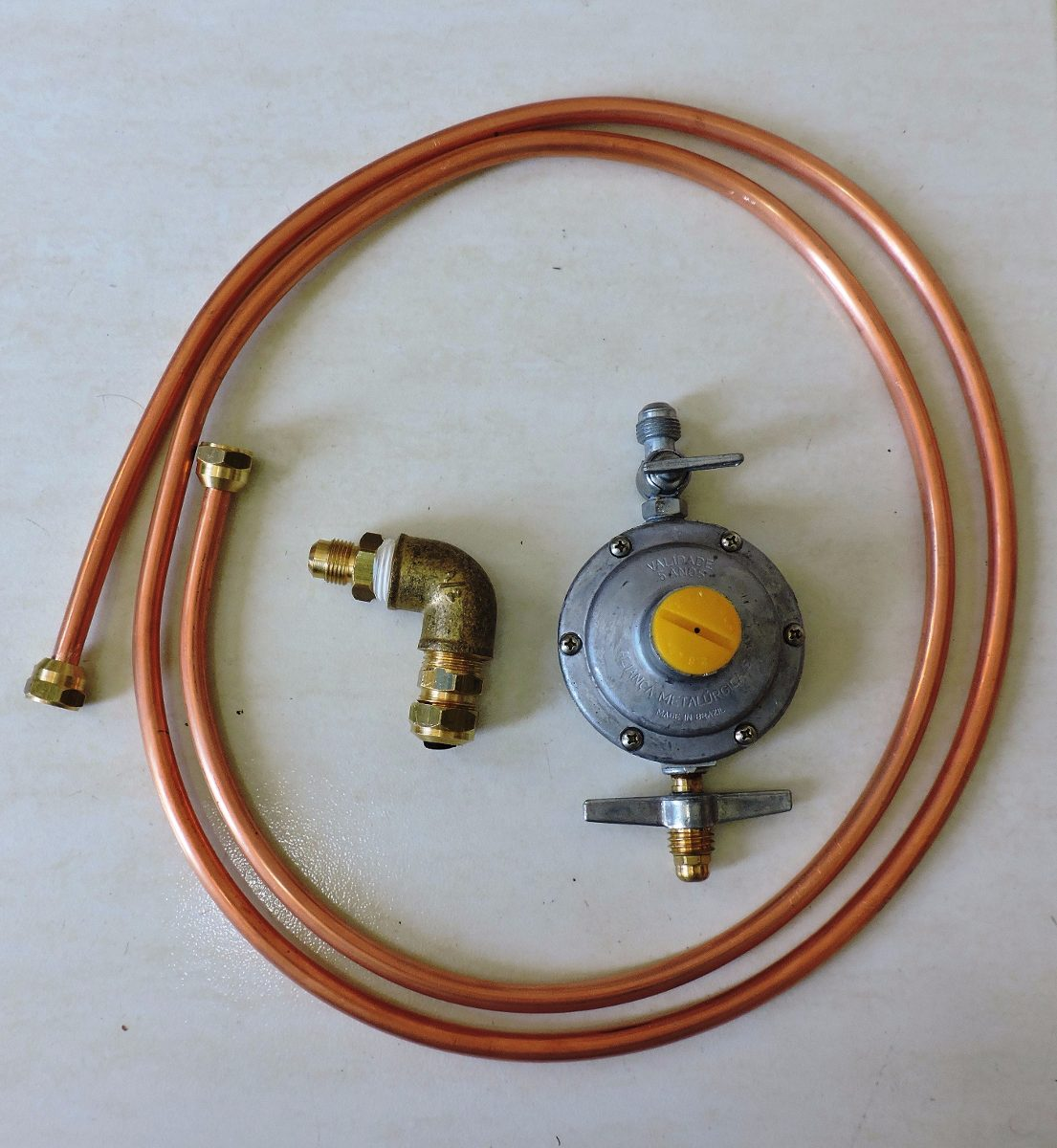Tubo de cobre 3 8 39 gas 5mts registro adaptadores - Tubo de cobre para gas ...