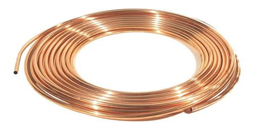 tubo de cobre flexible 12 mts 3/8 usos generales profesional